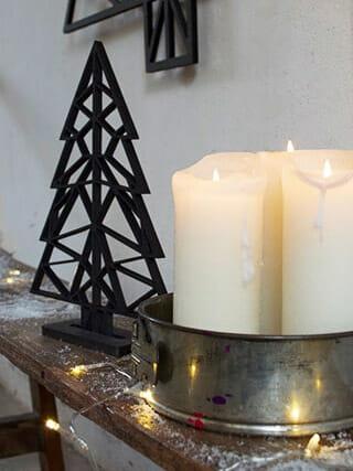 mini kerstboom fbrk design zwart