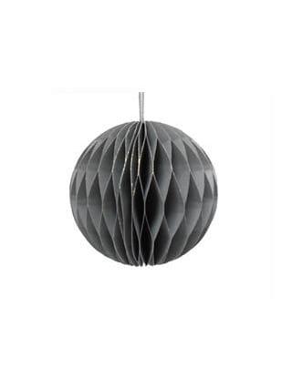 zilver honeycomb ornament
